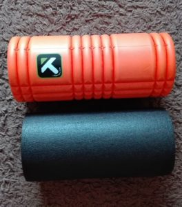 Massagerolle Blackroll oder TP Therapy The Grid