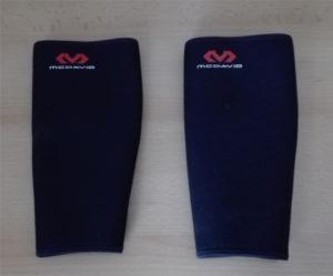 kompressions Wadenbandagen für Schutz beim Kreuzheben vor blutigen Schienbeinen