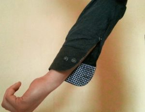 How To Roll Up Your Shirt Sleeves - Unbutton the Cuff and Gauntlet Buttons