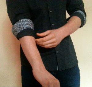 How To Roll Up Your Shirt Sleeves - The Master Roll Step 3